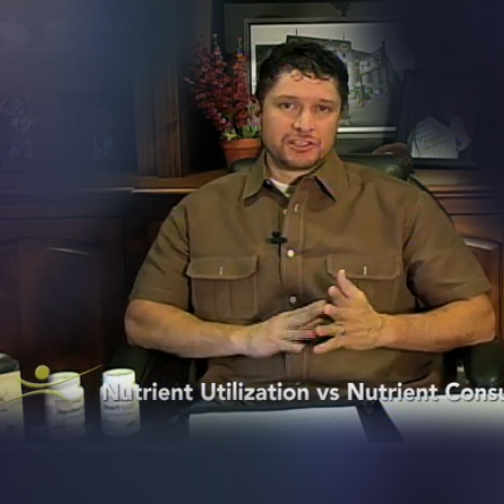 Nutrient Utilization vs Nutrient Consumption