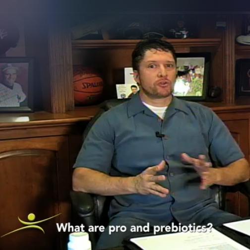 What are pro and prebiotics?
