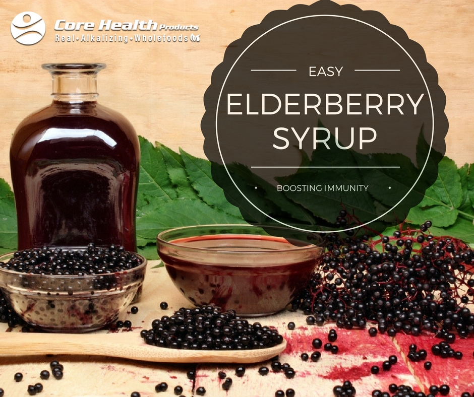 Easy Elderberry Syrup