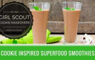 Girl Scout Cookie Smoothie