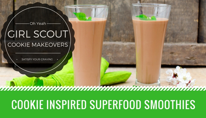 Cookie Inspired Superfood Smoothies